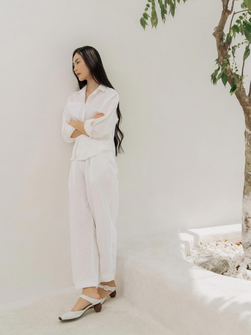 Camomille Pants – White